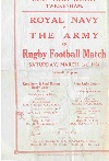 01/03/1924 : Royal Navy v The Army