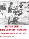 01/06/1977 : British Isles v  King Country Wanganui
