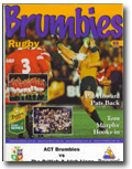 03/07/2001 : ACT Brumbies v The British Lions