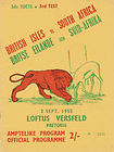 03/09/1955 : British Lions vs South Africa 3rd Test