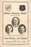 05/07/1930 : British Isles v New Zealand (2nd Test)