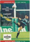 07/01/1996 : Cardiff v Toulouse (EC Final)