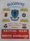 07/08/1971 : British Isles v North Auckland