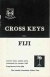 09/10/1985 : Cross Keys v Fiji