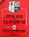 14/06/1977 : British Isles v New Zealand Universites