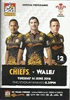 14/06/2016 : Chiefs v Wales