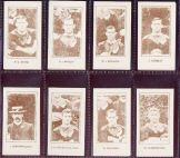 New Zealand Rugby 1905 cigarette cards
