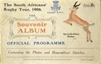 01/01/1906 : Cardiff v South Africa