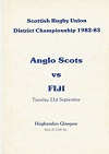 18/09/1982 : South of Scotland  v Fiji