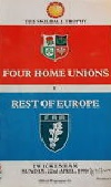22/04/1990 : Four Home Unions v Rest of Europe