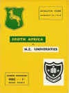 22/08/1956 : New Zealand Universities  v South Africa