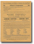 23/11/1946 : London Scottish v Oxford Univ.