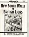 24/06/1989 : British Lions v New South Wales