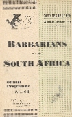 26/01/1952 : Barbarians v South Africa