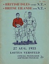 27/08/1955 : British Lions vs Northern Transvaal
