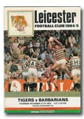 27/12/1984 : Leister Tigers v Barbarians