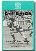 01/09/1979 : Cardiff v East District