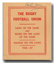 The RFU Case Laws 1966